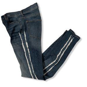 Sneak Peek distressed high rise jeans size 9